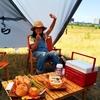 モーニングピクニック(近所の河川敷)(2017年6月)
