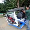 【フィリピン旅行記4】フィリピン最後の秘境のエルニド。空港からエルニド村までの行き方。トライシクルは揺れがひどい