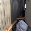 燕市で法人様の応急処置!強風による外壁の捲れ!