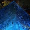 ブルー・ライト・モリオカ。盛岡城跡公園の石垣がブルーに。市内各地でライトアップ。冬の風物詩がスタート。
