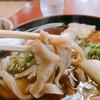 日高町の名店「いずみ食堂」で名物蕎麦を食す。
