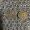 (500円玉貯金)銀色の旧硬貨を見る機会が減りましたね 4回目