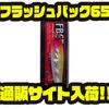【サムルアーズ】 FLASH BACKシリーズのインジェクションモデル「フラッシュバック65」通販サイト入荷!