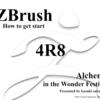 ワンフェスのArchemyZBrush原型体験講座、最新版のZBrush4R8でやります!