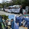 浄土真宗の僧侶20人が高江で抗議の座りこみ ②