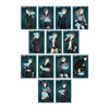 【十三機兵】グッズ『十三機兵防衛圏 スクエア缶バッジ』13個入りBOX【一二三書房】より2020年6月発売予定♪