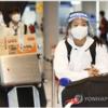 中国・韓国選手団 続々成田到着 かなりガードしてます 2021.7.17