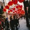 Lantern Festival,Nagasaki,Japan  (Leica If + Voigtländer Super Wide Heliar 15mm F4.5 + Fuji SUPERIA X-TRA 400)