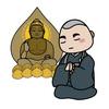骨仏:骨で仏像を作って納める葬法