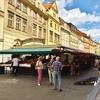 プラハ観光 ハヴェル市場でお土産探し