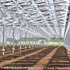 ソーラーシェアリング:千葉市内に高圧規模のソーラーシェアリングが竣工 - 設備下の農業も一体で実施