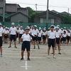 運動会総練習パート2 応援合戦 緑組