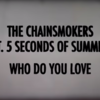 【和訳/歌詞】 Who Do You Love / The Chainsmokers(チェインスモーカーズ) ft. 5 Seconds of Summer