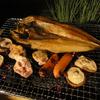 秋の自宅BBQ