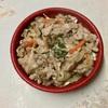 🚩外食日記(408)    宮崎ランチ   「まるみ豚(弁当)」⑤より、【ぶた丼塩ダレ】【チーズメンチカツ】‼️