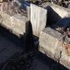 水田の水口水漏れ対策に田門