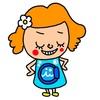 riekimさんにブログのキャラクターを作っていただきました!