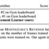 【DRL,Montezuma】当方の結果が論文で参照されました 嬉!