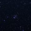 「散開星団NGC457」の撮影 2021年8月4日(機材:コ・ボーグ36ED、スリムフラットナー1.1×DG、E-PL5、ポラリエ)