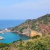 新魚目海水浴場海岸プール(長崎県中通島)