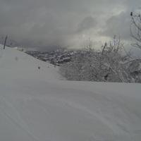 近所のスキー場