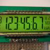 セグメント液晶「TS119-5」。 あれ!? まだ表示できる文字があった!