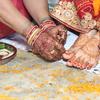 【インドで国際結婚】火の回りを7回まわる「サートフェレ」。ヒンドゥー教徒の結婚の儀式
