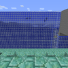 【MinecraftPC版】Part280 海底神殿の周囲の壁を砂からガラスに交換