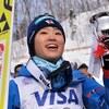 【伊藤有希】地元で大ジャンプ2本!嬉しいW杯初優勝!
