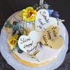 【大人女子のホムパに】中目黒の花カフェでオーダー!清爽なフラワーケーキが最高に可愛い!