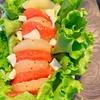 【レシピ】グレープフルーツとクリームチーズのサラダ。