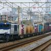 4月3日撮影 東海道線 平塚~大磯間 ② 金太郎 EF200 貨物いろいろ
