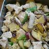 鶏肉と根菜の酒粕煮