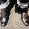 修理後の靴を履きならし!(^^)