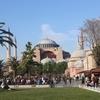 イスタンブール 旧市街2日目 アヤソフィアとグランドバザール