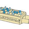 5000年前の古代エジプトボードゲーム(セネト)やってみる?