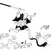 【再読】化け物寺 その1 ~『曽呂里物語』巻四の四「万の物年を経ては必ず化くる事」~