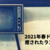 2021年春ドラマ 感想と癒されたランキング