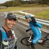 IZU TRAIL JOURNEY対策で、アップダウンのある道を25km。久しぶりに山下くんに会ったよ!