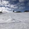 孫と2人で牛岳スキー場に