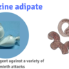 Identification and uses of piperazine adipate drugs
