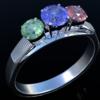 Blender 290日目。「ダイヤモンドリングのモデリング」その6(終)。