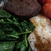 長芋と冬菜のソテー 牛さん添え