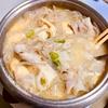 鍋で具沢山味噌汁を作ればそれは味噌鍋になる。