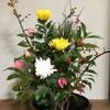 姉のお正月向け生け花