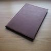 自分らしさを表現する紙のノートカバー | ミドリ社製 MDノートカバー
