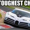 Bugattiチェントディエチがニュルブルクリンクを走る