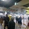 〔ゴールドジムの看板を見てからの〕阪神梅田駅 ミックスジュース