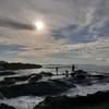 夏の終わりの江ノ島