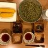 茶そばと甘―いトウモロコシ